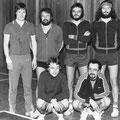 1979 Meister der Badenliga: hinten Thomas Keller, Hans Drechsler, Elmar Mosbrugger, Manuel Boxler; vorne Thomas Fröhlich, Hein-Lüder Mayer