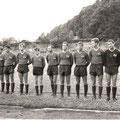 1. Mannschaft 1967: Dieter Klökler, Fred Janko, Peter Weber, Lutz Grüneberg, Bernd Walser, Manfred Lieb, Helmut Leirer, Klaus Böhm, Kurt Kothmann, Lindner, Rolf Benz.