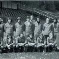 1. Mannschaft 1975: Behrens, Nessit, Winter, Reinecke, Zeberer, Fahnkow, Lüdke, Takac, Meyer, Klökler, Zehner. Kniend: Märkl, Zehner, Krolo, Hornstein, Lammer, Ertel.