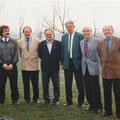 Torwart-Legenden des FC Konstanz anlässlich des 60. Geburtstages von Fiffi Reichert: Markus Reichert, Egon Boch, Erich Trautner, Peter Zink, Gerold Traber, Günter Bernhard.