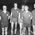 1976 2. Mannschaft: ?, Dieter Graf, Wolf-Dieter Laudon, Karlheinz Mahr, Heinz Mayer, Uli Einhoff (Jahreszahl unsicher)