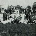 Um 1900. Spiel FC Constantia - FC Feuertalen/Schaffhausen
