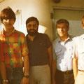 1982 3. Mannschaft: Klaus Reindanz, Christian Graf, Josef Brigandt, Ludwig Burgmaier, Dieter Graf