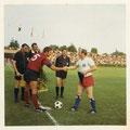 18. Juli 1970. Freundschaftsspiel FC Konstanz - Hamburger SV 2:5 vor 7000 Zuschauern
