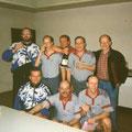1997 Meister Bezirksklasse: hinten Manuel Boxler, Joachim (Jojo) Fritz, Thilo Korb, Horst Cramer, Dieter Graf; vorne Daniel Notter, Hein-Lüder Mayer, Markus Rast