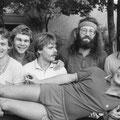 1982 Badenliga: Thomas Fröhlich, Martin Stuke, Uli Gläsel, Manuel Boxler, Elmar Mosbrugger; liegend Thomas Keller