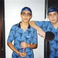 2002 Jugend-Vereinsmeisterschaft: Sina Sarmadi, Tobias Gänswein