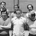 1978 Meister der Bezirksklasse. Vermutlich die 2. Mannschaft im Meisterjahr 1978: Hinten: Uli Gläsel, Hubert Knoblauch, Chris Schuler. Vorne: Lothar Schäfer, Klaus Reindanz, Dieter Graf