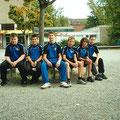 2009 Jungen 2: Kenan Kamprad, Srdjan Smiljkovic, Patrick Feit, Dominik Brardt, Marco Hank, Luka Bagaric