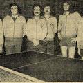 1975 Meister der Landesliga: Josef Brigandt, Helmut Riedl, Hein-Lüder Mayer, Helmut Klipfel, Manuel Boxler, Dieter Graf