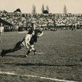 5. April 1959: Spitzenspiel der 1. Amateurliga FC Konstanz - FC Singen 0:2 vor 10.000 Zuschauern im Bodenseestadion