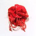 Sacchetto in raso rosso con tirante € 1,80