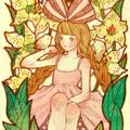 [ミニ原画] Lily 2016.4 🔴