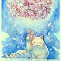 [ミニ原画]桜シャンデリア 2016.2 🔴