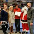 Übergabe Scheck an die Tiertafel Kiel über 320,00 €
