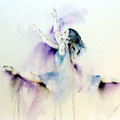 Flying dance classical (7) / Watercolour 30x40cm