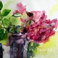 3. Rose / Aquarell auf Arches satiniert 30x40cm