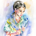 aus dem Land der aufgehenden Sonne (7) / Watercolour 30x40cm