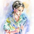 aus dem Land der aufgehenden Sonne (13) / Watercolour 30x40cm