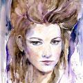 Janina (13) / Watercolour 24x32cm