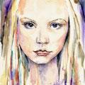 Anni (O2) / Watercolour 17x24cm