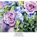 Rosen II 2016 / Aquarell 30x40cm auf Arches CP © janinaB. 2016