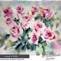 Roses V 2016 /Watercolour 30x40cm Arches HP © janinaB. 2016