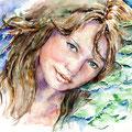 Janina (T1) / Watercolour 36x48cm