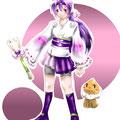 結城レン:魔法少女大戦イラコン応募作品