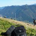 Tonto Umhängetasche beim Bergwandern