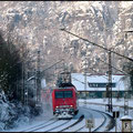 145 004 zieht heute den Doppelstockwendezug nach Schöna.