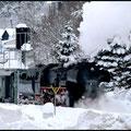 Winter 2010 im Erzgebirge.