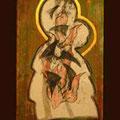 koptische Ikoneninterpretation, Mutter Gottes - der brennende Dornbusch