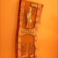 Koptische Ikone - Die Entschlafene, die im Himmel gekrönt wird