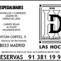 Bar-Restaurante Las Hoces