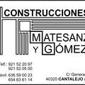 Construciones Matesanz y Gomez