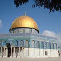 """2008-10-21 Jerusalem - ISR:  """"Felsendom - Religionskrieg? """" - © reinhard uhlich"""
