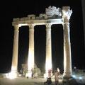 """2007-08-28 Side / Antalya - TUR:  """"wo sind die Römer? """" - © reinhard uhlich"""