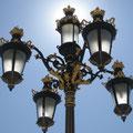 """2008-09-29 Madrid - ESP:  """"Königliches Schloss - Aussenbeleuchtung? """" - © reinhard uhlich"""
