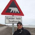 "2010-07-04 Longyearbyen / Svalbard - NOR:  "" ? - selbstsprechend! "" - © cornell ripperger"