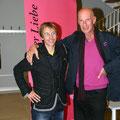 mit meinem Freund Gregor Sieböck, dem Weltenwanderer