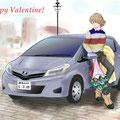 2月13日 明日はバレンタイン