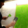 Wunderbare Arbeit mit Kalk - Grün ist die Farbe des Jahres 2013