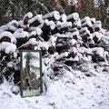 Mächtiger Holzstapel