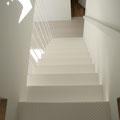 小屋裏への階段