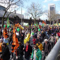 Groß-Demo in Hamburg
