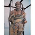 Gefesselter Philosoph - im archäologischen Museum Neapel