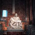 Die Pieta von Michelangelo in St. Peter