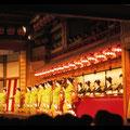 Klassische Tanzvorführung in Kyoto