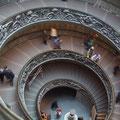 Treppenhaus der vatikanischen Museen